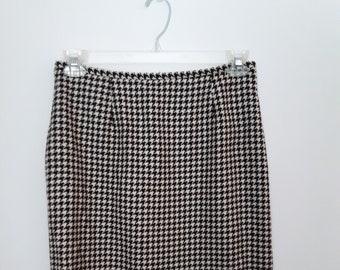 Vintage Brushed Corduroy Skirt Ann Taylor Gingerbread Unworn 90s