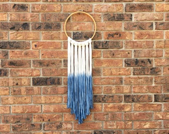 Cross Stitch Hoop Wall Hanging