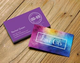 Doterra business cards etsy essential oils business card colourmoves