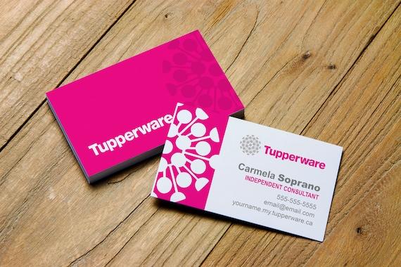 Tupperware Imprimer Carte De Visite Personnalis