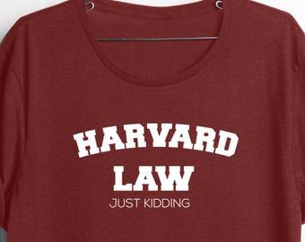 f500ba86f789 College Graduation| Boyfriend Graduation| Girlfriend Graduation| Funny Grad  Gifts| Funny College Shirt| Funny Brother Tee| Harvard Law