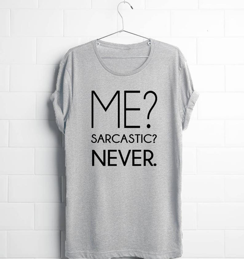 SARCASM NATURAL-Sarcastic Unisex Graphic Gift Cool Idea Funny Novelty T-shirts