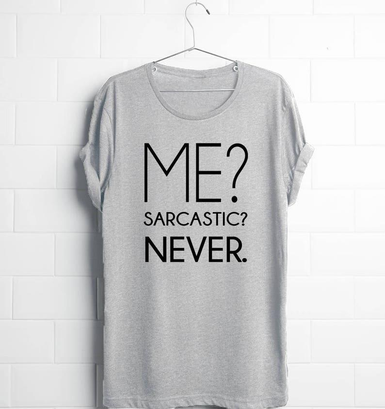 a6d7f541d Gag Gifts Men Sarcastic Shirts Sarcasm Me Sarcastic | Etsy