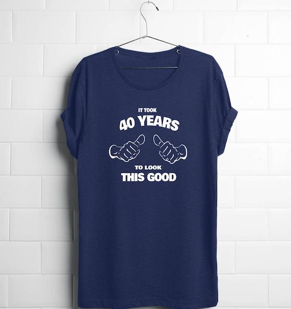 40 Geburtstag Shirt 40 Geburtstagsgeschenk Mann 40 Etsy