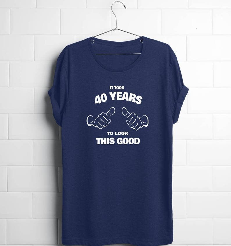 40th Birthday Shirt Gift Husband