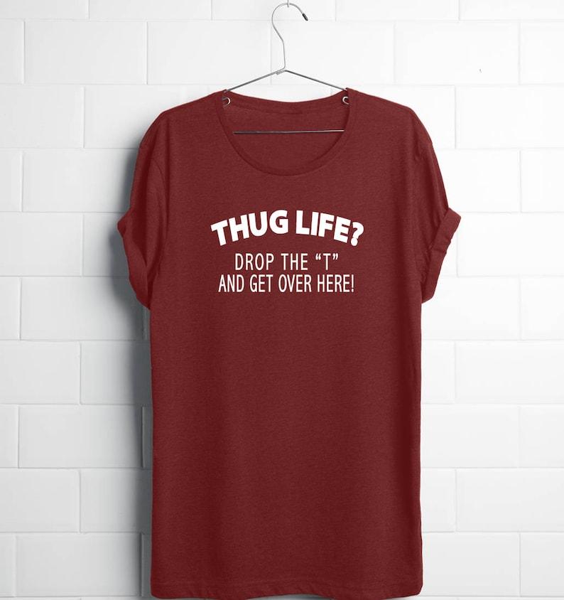 e6a6c46c1 Hug ShirtFunny Graphic Tees MenFunny Teen ShirtsThug Life | Etsy