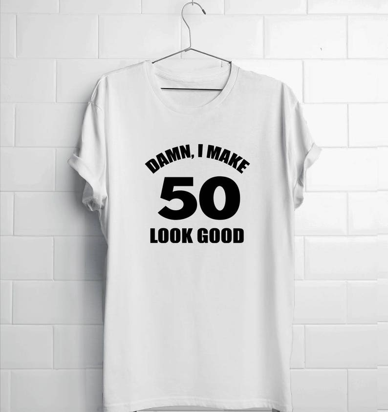 50th Birthday Shirt Dad Damn
