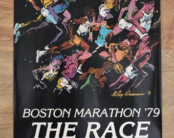 LeRoy Neiman The Race Print Boston Marathon 1979