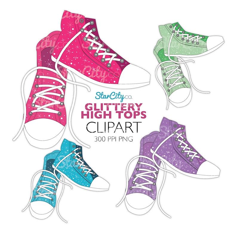 SneakerEtsy Chaussure Haut Top Clipart Haut XuTPZikO