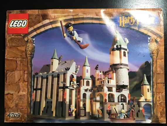 Lego 4709 Hogwarts Castle 100 Complete With Instructions Etsy