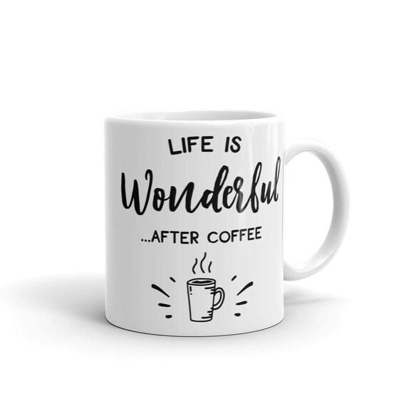 Cadeau personnalisé tasse kangourou argent boîte cup Personnaliser Nom Garçon de Café Thé Silly