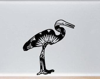 egret silhouettes etsy