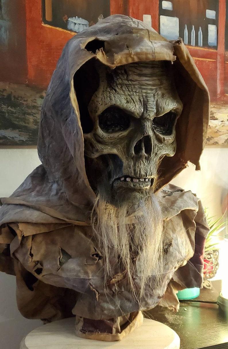 Tombs of the blind templar zombie halloween bust