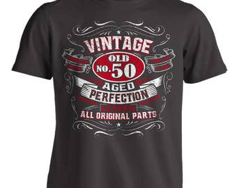 Vintage 50th Birthday Shirt For Men Born In 1969