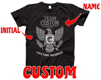 Johnson Family Name T-Shirt Surname T-Shirt Any Name Can Be Added Customise Clan