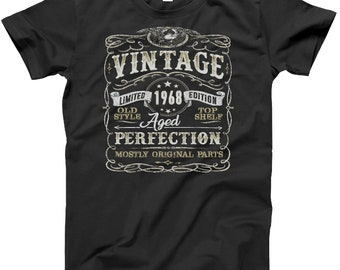 50th Birthday Gift Shirt | Vintage 1968 | Funny | 50 Years Old | Born in 1968 | Gift For Him | Christmas or Birthday Gift | 50th