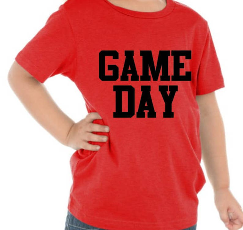 110163a3 Game Day Shirt / Custom Game Day Shirts / Personalized Shirts | Etsy