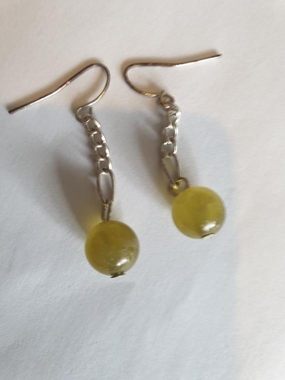 Lime green bead