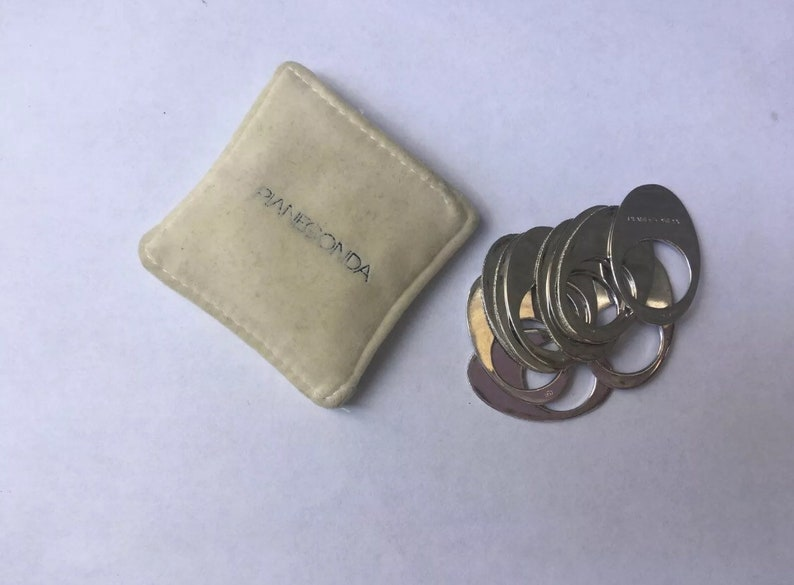 Size 7 10 Pianegonda Stackable Rings All fully Hallmarked Size N Made in Italy U.S Sterling Silver