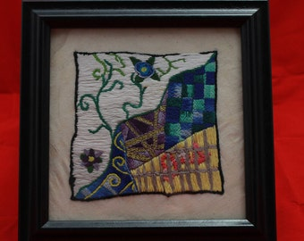 "Original Embroidery ""Divided"""
