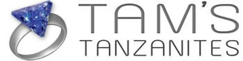 AAA Tanzanite Pendant 18k Yellow Gold /'CERTIFIED/' Beautiful Colour