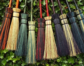 Handcrafted Brooms for Home Use Fantasy and by MeckleyBrooms