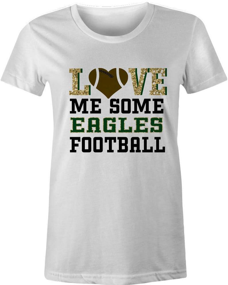 EAGLES Friday Night LightsT-shirt Personalized Football Shirt Custom Sport Tshirt bling Game glitter mom FOOTBALL WOMENS High School