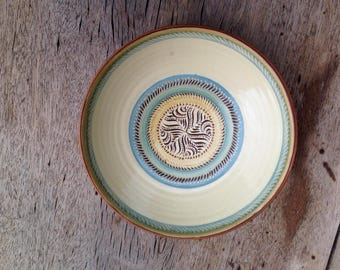 A Lamorna Studio Pottery Dish