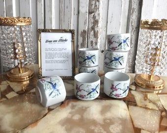 60s Japan Teacups BOLTZE BAZAR / 60s japanese tea cups by Boltze Bazar