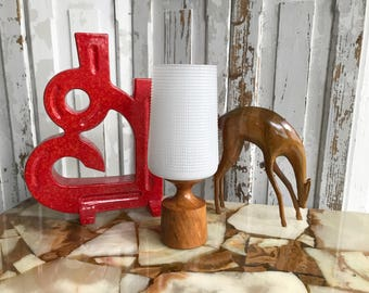 Mid Century rootwood candle holder / Mid Century candle holder