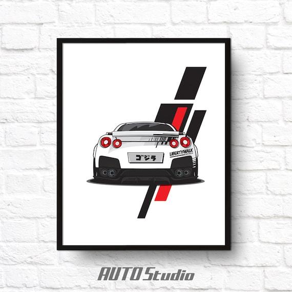 16x20 Mercedes Benz Racing Sports Car Wall Decor Art Print Poster