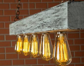 Rustikale Wandleuchte Lampe Wandleuchte rustikal Holzwand | Etsy
