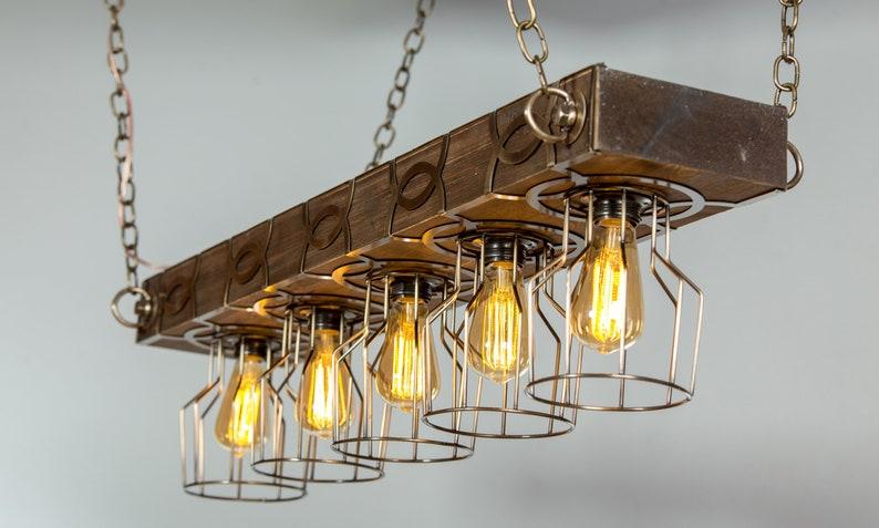 Käfig Licht, Holz Lİght, Bauernhof Licht, Scheune Licht, industrielle  Licht, rustikale Beleuchtung, aufgearbeiteten Holz Licht, Licht, Holz ...