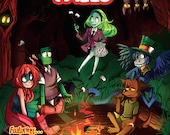 Fireside Tales - Issue #1 - All Ages - Monsters - Comic Book - Indie Comics - Last Ember Press - Super Hero - Robots