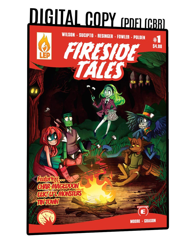 Fireside Tales  Issue 1  PDF  Digital Copy  Monsters  image 0