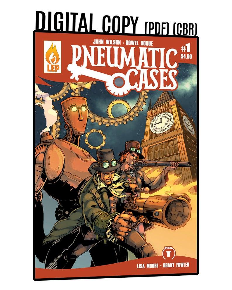 Pneumatic Cases  Issue 1  PDF  Digital Copy  Steampunk  image 0
