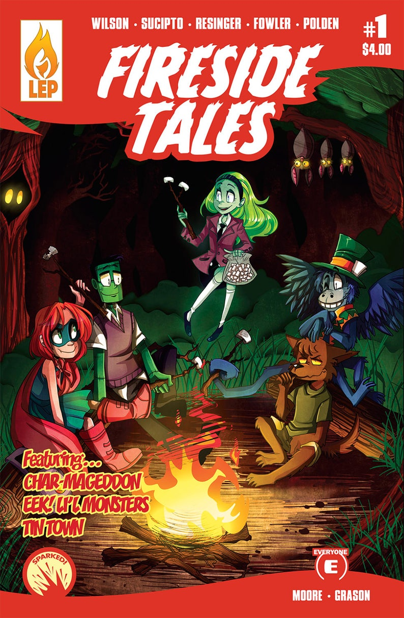Fireside Tales  Issue 1  All Ages  Monsters  Comic Book  image 0