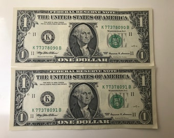 Serial numbers money | Etsy