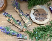 Palo Santo Russian Sage and Amethyst Incense Sticks * Holy Wood * Smudge * Smudging * Rituals * Protection * Cleansing * Home * Sacred Space
