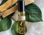 Palo Santo Essential Oil Perfume * Vanilla * Palo Santo Wood * Valentines Day Gift * Cleansing * Meditation * Energy * Holy Wood * Oil