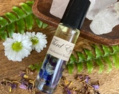 Third Eye Oil * Chakra Oil * Chakra Healing * Chakra Crystal * Intuition * Meditation Gift * Spiritual Gift * Blue Lotus * Lapis Lazuli *
