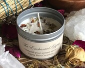 Enchanted Gypsy Ritual Candle * Free Spirit * Bohemian * Valentines * Magic * Apothecary * Altar * Ritual * Witch * Spiritual * Meditation