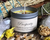 Prosperity Candle * Abundance * Wealth * Money Candle * Aromatherapy * Apothecary * Magic * Gypsy * Valentines * Soy Candle * Ritual Candle