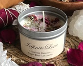 Infinite Love Ritual Candle * Self Love * Magic * Spell Candle * Gypsy * Healing * Crystals * Goddess * Meditation * Valentines Day * Altar