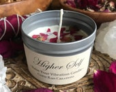 Higher Self Ritual Candle * Spell candle * Magic * Witch * Goddess * Rituals * Altar * Intuition * Gypsy * Bohemian * Self Love * Valentines