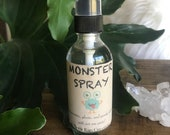 Monster Spray * Essential Oils * Bedtime * Boogie Man * Ghosts * Spirits * Children * Spooky * Monsters