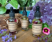 Botanical Ritual Oils * Essential Oils * Lavender Oil * Rose *Massage Oil * Bath Oil * Magic Oil * Witchy * Altar * Perfume * Valentines *