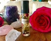 Fertility Essential Oil Perfume * Crystal Healing * Infertility * Aromatherapy * Pregnancy * Valentines * Conception * Sexual Healing * Love