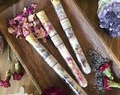Moon Bath Salt Set * Aromatherapy * Ritual * Rose * Lavender * Spa * Valentines Day * Self Love * Goddess * New Moon * Full Moon * Bath Oil