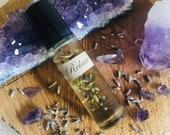 Relax Essential Oil Perfume * Lavender Oil * Mothers Day * Calm * Stress Relief * Crystal Healing * Crystal * Amethyst * Gypsy * Apothecary